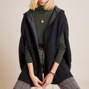 Anthropologie Bellamy Hooded Capelet